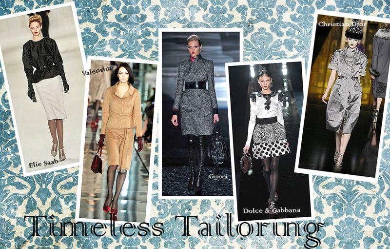 Timeless tailoring