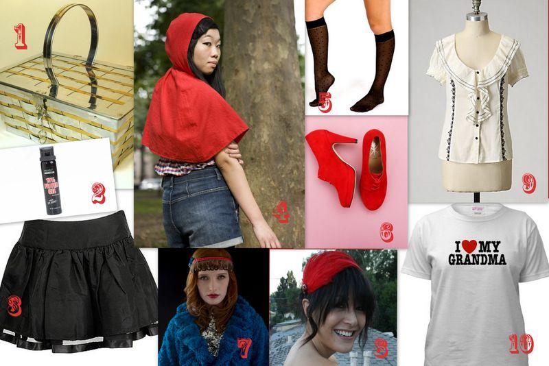 Halloween- Little Red Riding Hood!