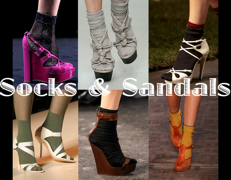 Socks & Sandals Runway Highlights